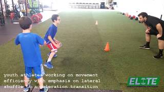 Elite Youth Athletes working on 🔥 MOVEMENT EFFICIENCY