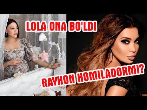 Lola 3-marta ona bo'ldi! Rayhon homiladormi?
