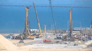 1.05.2016.Тамань.Коса - Тузла. Мост в Крым