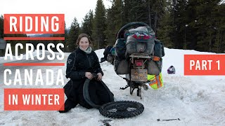 EP5: CROSSING CANADA IN WINTER PART1 (Alaska to Argentina)