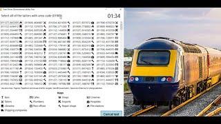 Train Driver Observational Ability Test (Train Driver Recruitment)