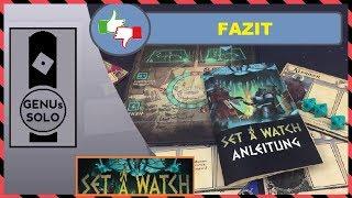 Set A Watch - Fazit - deutsch