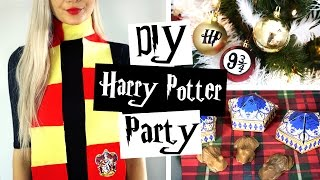 DIY Harry Potter Party IDEAS! ϟ Decor, Gifts & Treats