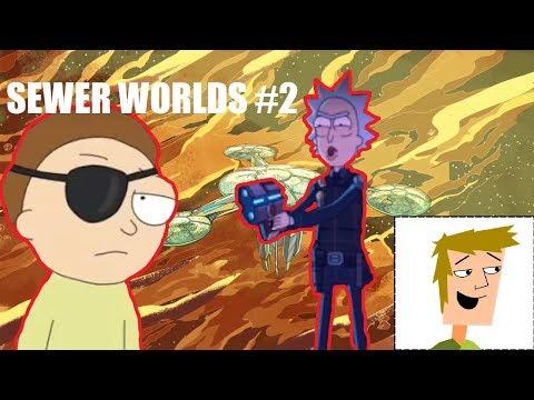 SewerWorlds #2 | Citadela Ricků a Evil Morty | Rozbor světa