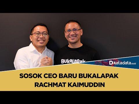Sosok CEO Baru Bukalapak Rachmat Kaimuddin | Katadata Indonesia