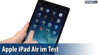 Apple iPad Air im PC-WELT-Test   deutsch / german