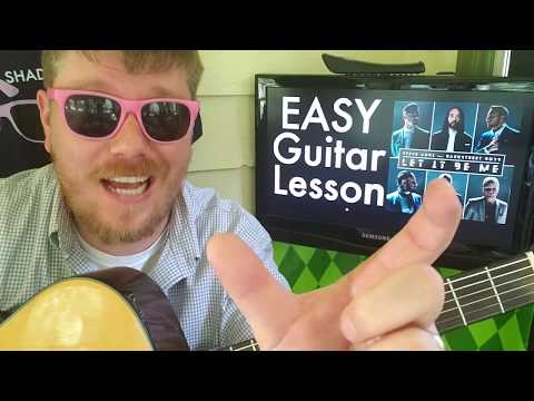 Steve Aoki, Backstreet Boys - Let It Be Me // easy guitar lesson tabs how to play (fingerstyle)