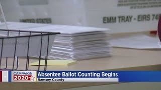 Absentee Ballots Now Being Counted In Minnesota