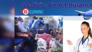 Medivic Air Ambulance from Kolkata to Delhi