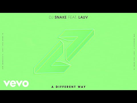 DJ Snake, Lauv – A Different Way (Audio)