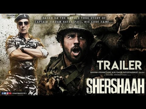 Shershaah Movie Trailer