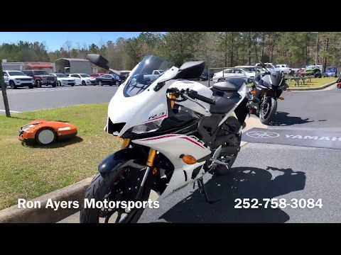 2019 Yamaha YZF-R3 ABS in Greenville, North Carolina - Video 1