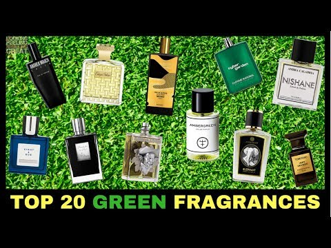 Top 20 Green Fragrances For Spring | Our Favorite Green Fragrances🌱🌿☘️🍀🍃