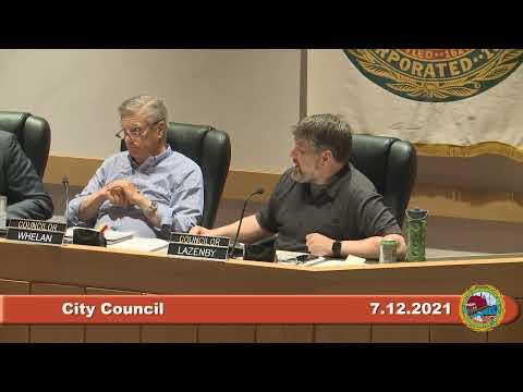 City Council 7.12.2021