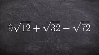 Learn to add and subtract radical expressions