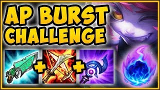 STOP PLAYING TRISTANA WRONG! AP BURST TRIST CHALLENGE IS NUTTY! TRISTANA SEASON 9! League of Legends
