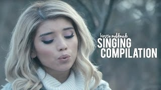 Kirstie Maldonado Singing Compilation