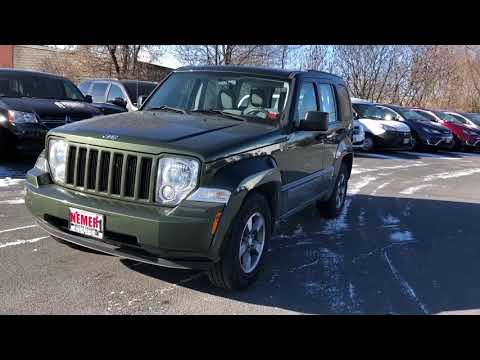 Pre-Owned 2008 Jeep Liberty Sport Sport Utility in Queensbury