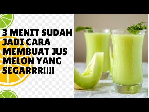 Video Cara membuat jus melon