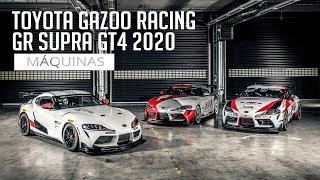 Toyota Gazoo Racing GR Supra GT4 2020 - Máquinas