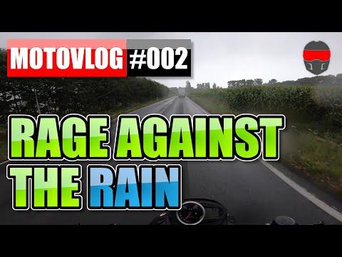 🌧️ Motorradfahren im Regen macht keinen Spaß | Motovlog #002