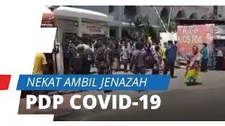 Viral Video Keluarga Pasien PDP Covid-19 di Makassar Ngamuk karena Ingin Kebumikan Sendiri Almarhum