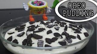 📌OREO CHEESE PUDDING | ഓറിയോ ചീസ് പുഡിങ് | Cheese Pudding Recipe In Malayalam