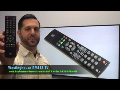 Westinghouse RMT13 TV Remote Control