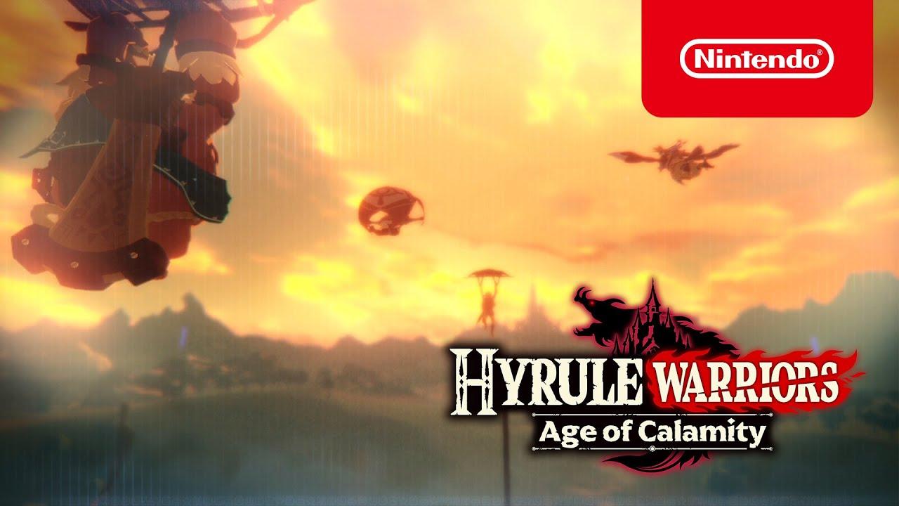 Hyrule Warriors Age Of Calamity Nintendo Switch Games Nintendo