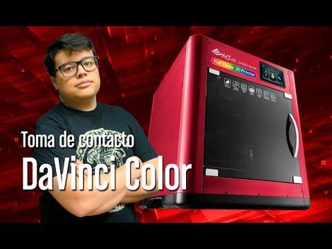 Probamos la DaVinci Color, la primera impresora 3D en color