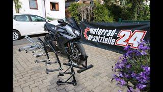 Motorradheber im Test