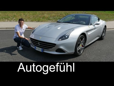 New Ferrari California T 2016 FULL REVIEW test driven V8 560 hp Turbo - Autogefühl