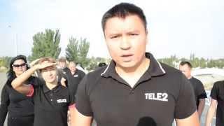 preview picture of video 'Tele2 Kazakhstan Ice Bucket Challenge Taraz City (Original Video)'