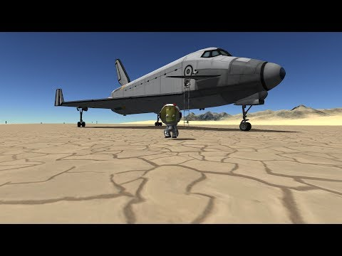 Download Reentry In A Shuttle In Ksp Video 3GP Mp4 FLV HD Mp3