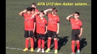 Sezon açılışı AFA U12'den ... Galibiyet pozu ...
