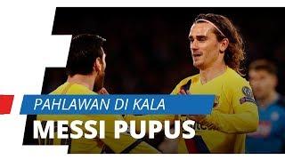 Barcelona Tertinggal dari Napoli, Griezmann Hadir Sebagai Pahlawan Disaat Messi Pupus