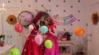Celebrate Poppy & Posie's Birthday Tomorrow at 12pm EST | Children's YouTube Show | Vide