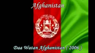 Afghanistan -  Daa Watan Afghanistan - National Anthem. Title, Music and Lyrics -
