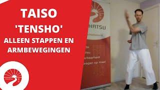 Taiso | 'Tensho' armbewegingen en stappen