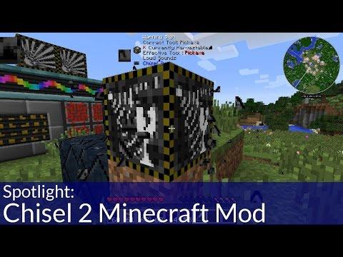 Chisel 2 Minecraft Mod
