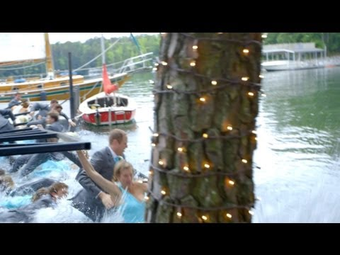 Wedding Party Plunge Video