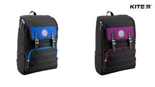 """Рюкзак молодежный College Line K18-850L-2 от компании Интернет-магазин """"Радуга"""" - школьные рюкзаки, канцтовары, творчество - видео"""