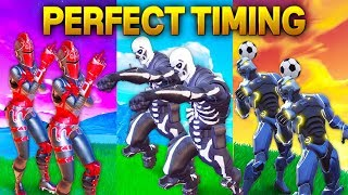 Fortnite - PERFECT TIMING Compilation