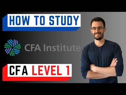 How to Study for CFA Level 1 Exam