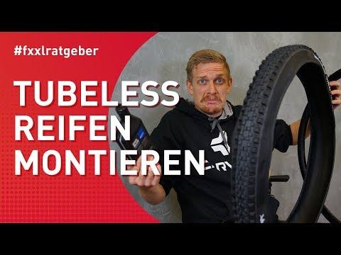 Tubeless Reifen Montage - so klappt es