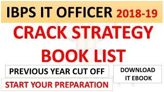 Start Preparation of IBPS IT Officer 2018-19 Now| Best Strategy and Book List