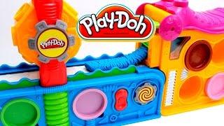 Play Doh Fun Factory Play Doh Mega Fun Factory Play Dough Toy Videos