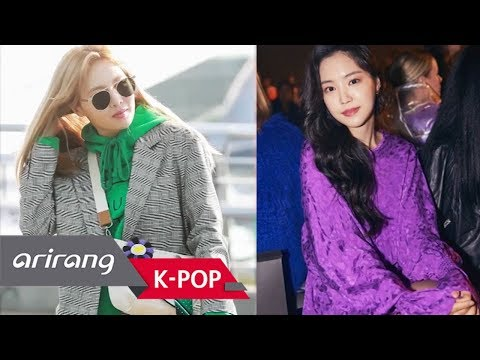 [Korea Showbiz]ah(泫雅)&-Hyun-!(Apink孙娜恩、)Son Na Take a eun look at in spring colors fashion styles