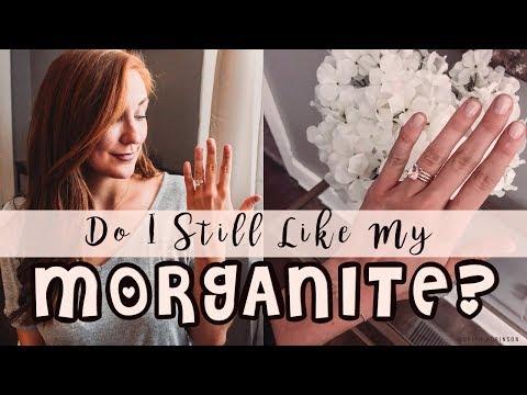 DO I STILL LIKE MY SAMNSUE MORGANITE RING? MORGANITE Q&A   Moriah Robinson