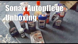 Sonax Autopflege Unboxing - Innenraumreinigung Sonax - Making of a REAL Putzteufel
